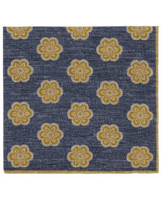 Reversible floral pocket square ELEVENTY