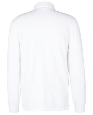 Polo à manches longues en coton piqué Custom Slim Fit POLO RALPH LAUREN