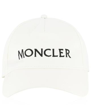 Logo embroidered cotton baseball cap MONCLER