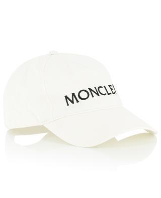 Casquette en coton brodée du logo MONCLER