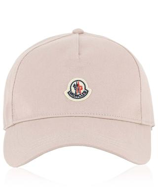 Logo patch cotton baseball cap MONCLER