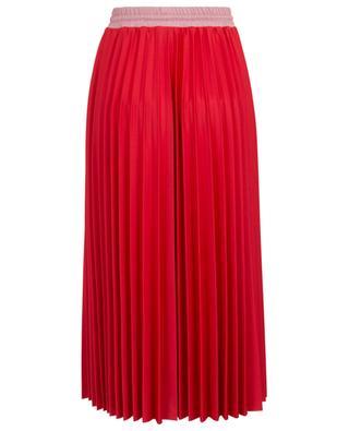 Technical fabric pleated midi skirt MONCLER