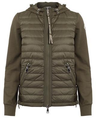 Down yoke sweat jacket MONCLER