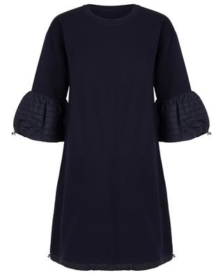A-line sweat dress with bell sleeves MONCLER