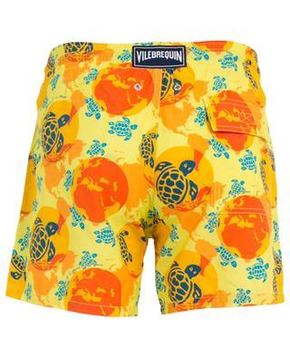 Moorea tortoise printed swim shorts VILEBREQUIN