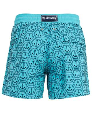Moorea flock anchor printed swim shorts VILEBREQUIN