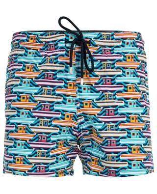 Moorise boat printed swim shorts VILEBREQUIN