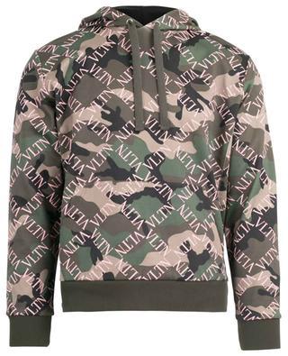 VLTN Grid camouflage sprint sweatshirt VALENTINO