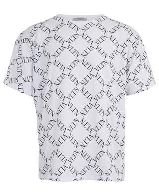 VLTN Grid logo printed cotton T-shirt VALENTINO