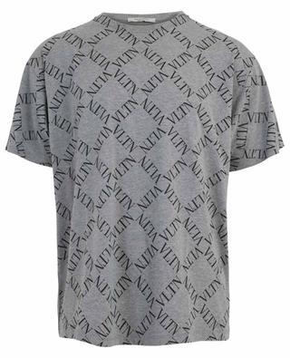 T-shirt en coton avec logo VLTN Grid VALENTINO