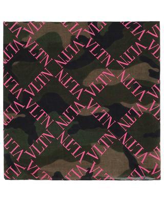 Écharpe motif camouflage VLTN Grid VALENTINO