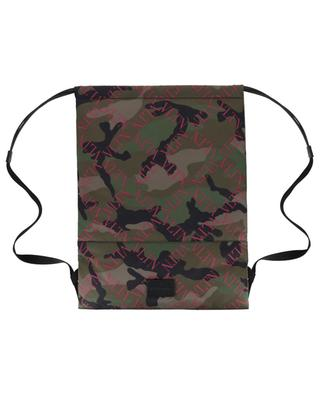 VLTN Grid Camouflage nylon backpack VALENTINO