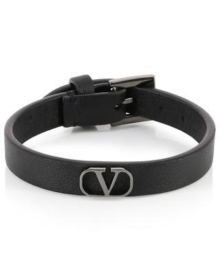 New V-Logo leather bracelet VALENTINO