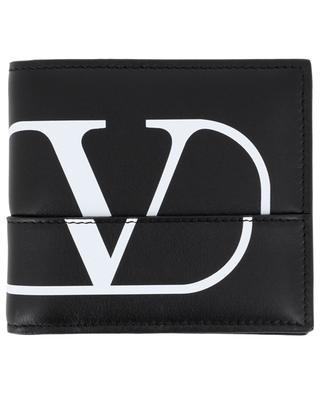 Petit portefeuille en cuir lisse VLOGO VALENTINO