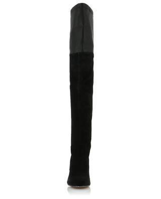 Stiefel aus Wildleder und Leder Helena STUART WEITZMAN