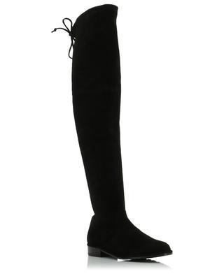 Lowland flat suede boots STUART WEITZMAN