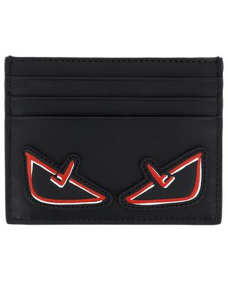 Bag Bugs F Eyes leather card holder FENDI