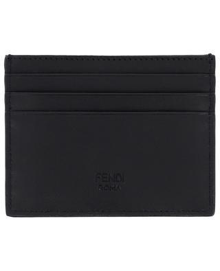 Bag Bugs F Eyes leather card holder FENDI