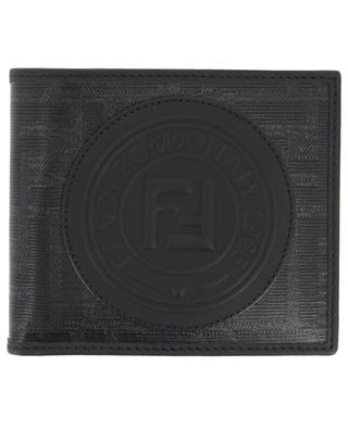 Fendi Stamp glazed jacquard wallet FENDI