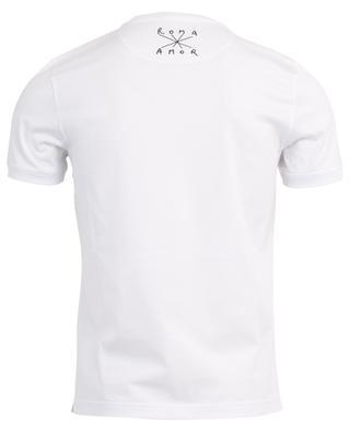 Slogan-T-Shirt Fendi Roma / Fiend Amor FENDI