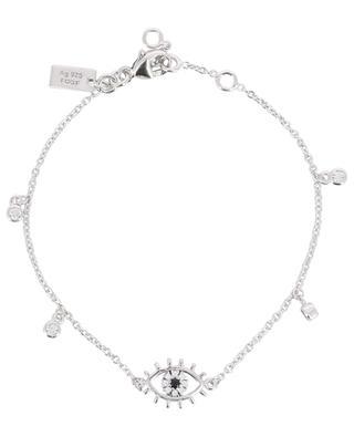 Eye silver bracelet AVINAS