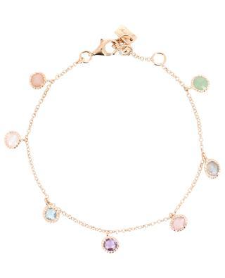 Halskette aus Silber Rainbow Briolette AVINAS