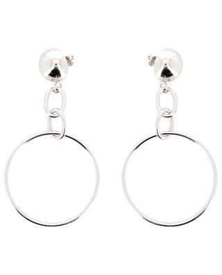 Sphere silver earrings AVINAS