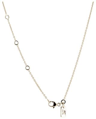 Drop yellow gold plated necklace AVINAS