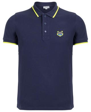 K-Fit Tiger Crest slim fit cotton polo shirt KENZO