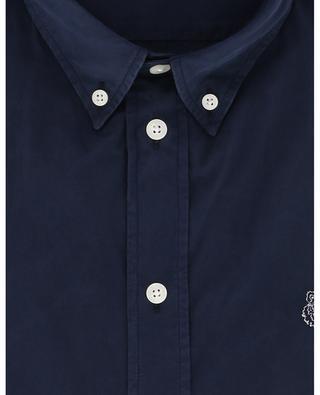 Besticktes Slim-Fit-Hemd aus Popeline Tiger Crest KENZO