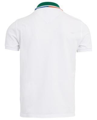 Poloshirt aus Baumwolle Colorblock KENZO