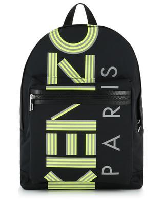 Rucksack mit fluoreszierendem Logo KENZO