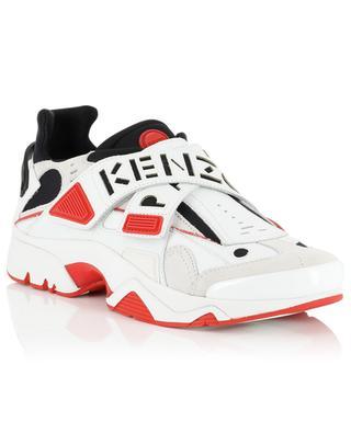 Materialmix-Sneakers mit Klettverschluss New Sonic KENZO