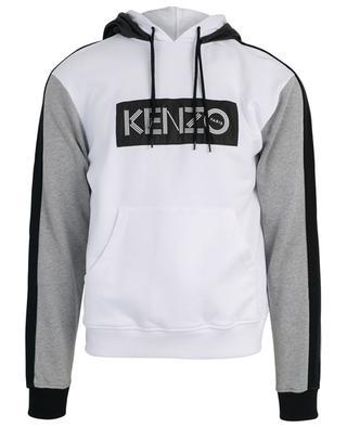 Sweat-shirt à double capuche en coton KENZO