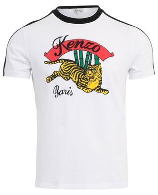 T-Shirt aus Baumwolle mit Print Bamboo Tiger KENZO