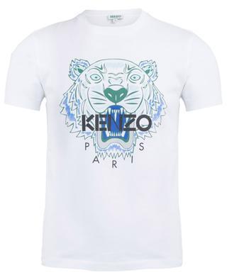 Tiger printed cotton T-shirt KENZO