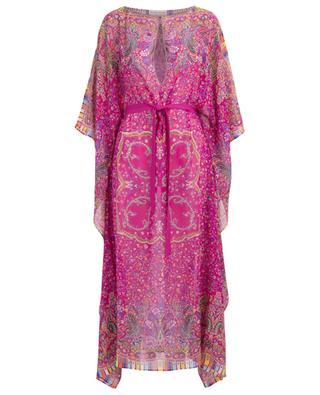 Printed silk beach dress ETRO