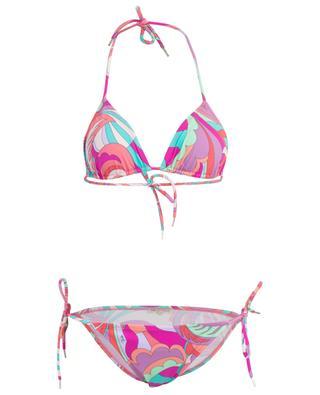 Zweiteiliger Badeanzug mit Print EMILIO PUCCI
