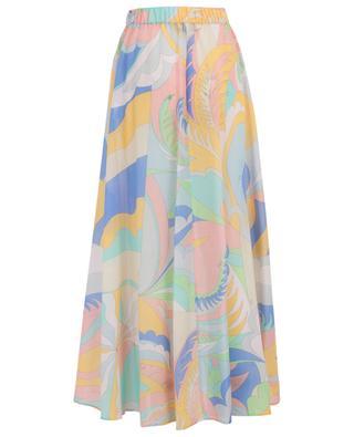 Cotton and silk maxi beach skirt EMILIO PUCCI