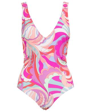 Printed one piece swimsuit EMILIO PUCCI