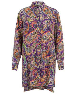 Paisley print adorned shirt dress ETRO
