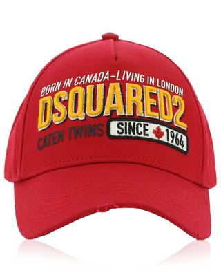 Casquette Born in Canada-Living in London DSQUARED2