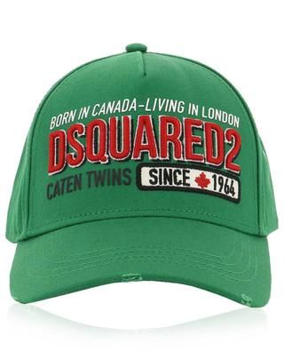 Baseballkappe Born in Canada-Living in London DSQUARED2