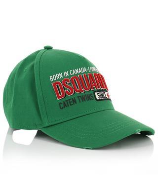 Born in Canada-Living in London baseball cap DSQUARED2