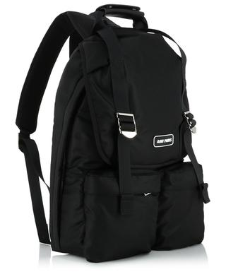 Ami Paris nylon backpack AMI