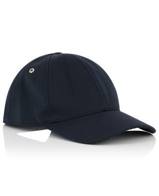 Logo embroidered baseball cap AMI