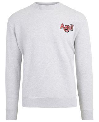 Sweat-shirt en coton Ami! AMI