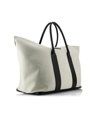 Canvas and leather tote TOM FORD