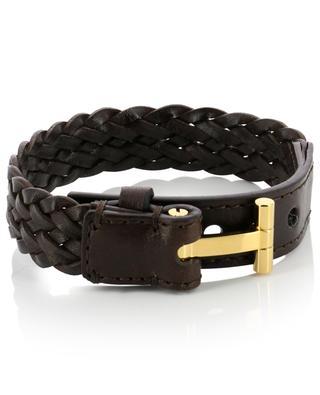Bracelet en cuir tressé TOM FORD