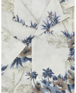 Kurzarm-Hemd aus Baumwolle mit Print HARTFORD